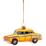 HANG ON Anhänger Glas Yellow Cab BUTLERS