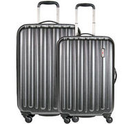 Hardware Profile Plus Braker 4-Rollen Trolley Set 2tlg., metallic grey brushed HARDWARE