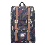 Herschel Little America 17 I Mid Volume Backpack Rucksack 38 cm Laptopfach, peacoat HERSCHEL