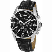 Jacques Lemans Herren Chronograph Liverpool Diver ´´1-1907ZA´´ JACQUES LEMANS