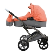 Small knorr baby kombikinderwagen voletto happy colour grau orange af7e1d402b7862e9b23f612a38aa5e738bfb283e