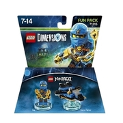 LEGO Dimensions - Fun Pack, Ninjago Jay WARNER BROS.
