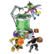 MATTEL MegaBloks Teenage Mutant Ninja Turtles Mutationslabor MATTEL