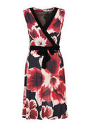 Million X Damen Kleid Red Flower, allover print, 44 MILLION X