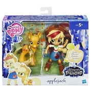My Little Pony - Mini Pack mit Pony, Applejack, ca. 7 cm (B7900) HASBRO