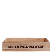 NORTH POLE DELIVERY Kiste BUTLERS