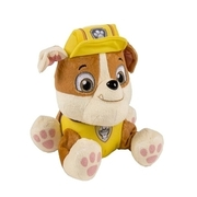 Paw Patrol - Plüschtier Welpe Rubble, ca. 20 cm SPIN MASTER