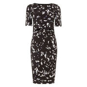 Phase Eight Damen Kleid Jago mit Print, schwarz PHASE EIGHT