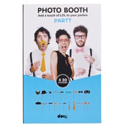 PHOTO BOOTH Accessoires 20er Set BUTLERS