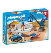 PLAYMOBIL SuperSet Baustelle 6144 PLAYMOBIL®