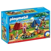 PLAYMOBIL - Zeltlager mit LED-Lagerfeuer - 6888 PLAYMOBIL
