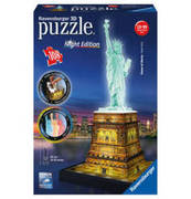 Ravensburger 3D Puzzle Freitheitsstatue Night Edition RAVENSBURGER