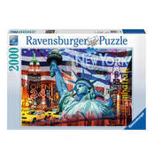 Ravensburger Puzzle New York Collage 2000 Teile RAVENSBURGER