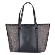 Roberto Cavalli Class Signature Collection Shopper Tasche Leder 32 cm, black ROBERTO CAVALLI CLASS