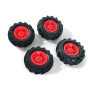 Rolly Toys - rollyLuftbereifung mit Felgen, rot ROLLY TOYS