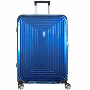 Samsonite Neopulse Spinner 4-Rollen Trolley 75 cm, metallic blue SAMSONITE