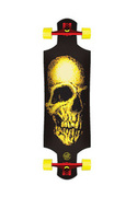 Santa Cruz Street Creep Drop Down 36.5´´ Longboard - Schwarz SANTA CRUZ