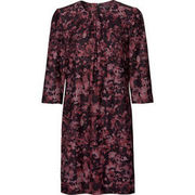 She Damen Kleid, aubergine SHE