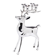 SILVER MAGIC Kerzenhalter Hirsch BUTLERS