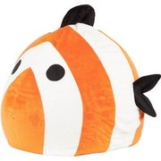 Sitting Point Sitzsack BeanBag Kidding Fisch 120 l Orange SITTING POINT