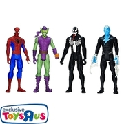 Spider-Man - Spider-Man vs. 3 Villains, 4er Set HASBRO