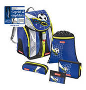 Step by Step Schulranzen-Set Flexline Soccer 5-teilig STEP BY STEP