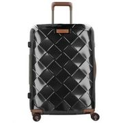 Stratic Leather & More 4-Rollen Trolley 65 cm, black STRATIC