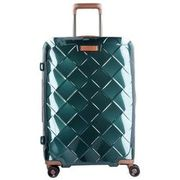 Stratic Leather & More 4-Rollen Trolley 65 cm, smaragd STRATIC