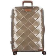 Stratic Leather & More 4-Rollen Trolley 75 cm, champagne STRATIC