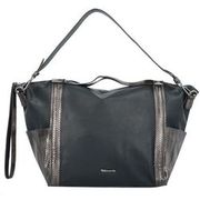 Tamaris Donata Shopper Tasche 52 cm, black comb TAMARIS