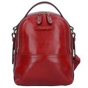 The Bridge Pearldistrict Rucksack Leder 27 cm, red currant THE BRIDGE