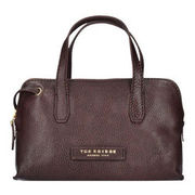 The Bridge Plume Soft Donna Schultertasche Leder 22,5 cm, marrone THE BRIDGE