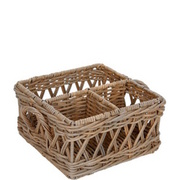 WILLOW Menagerie 25x25x14cm Rattan BUTLERS