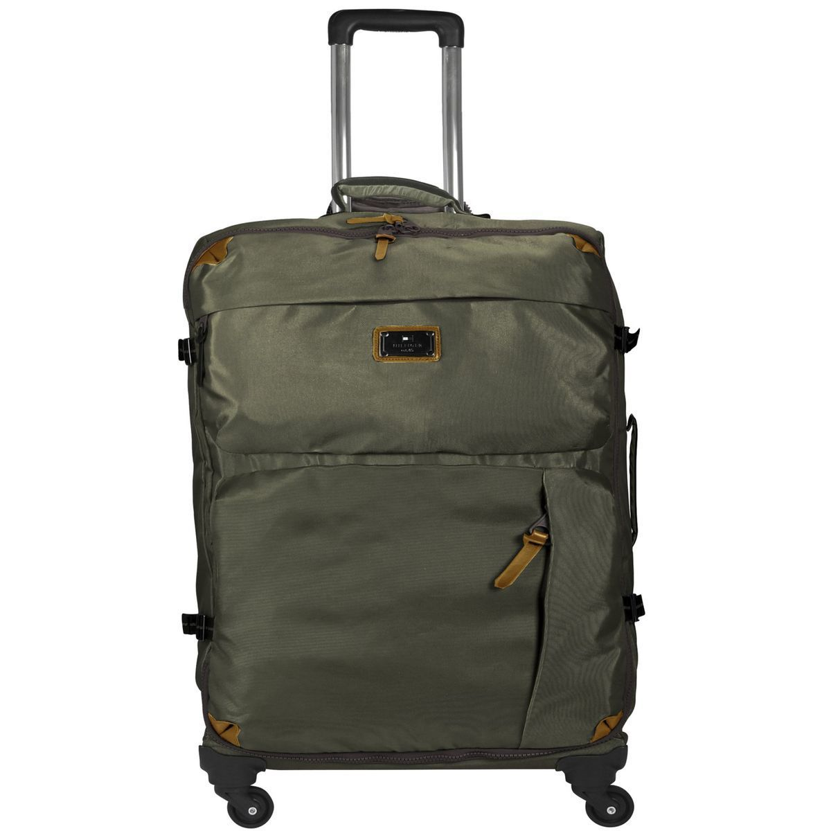 Tommy Hilfiger Burlington 4-Rollen Trolley 60 cm, grapeleaf