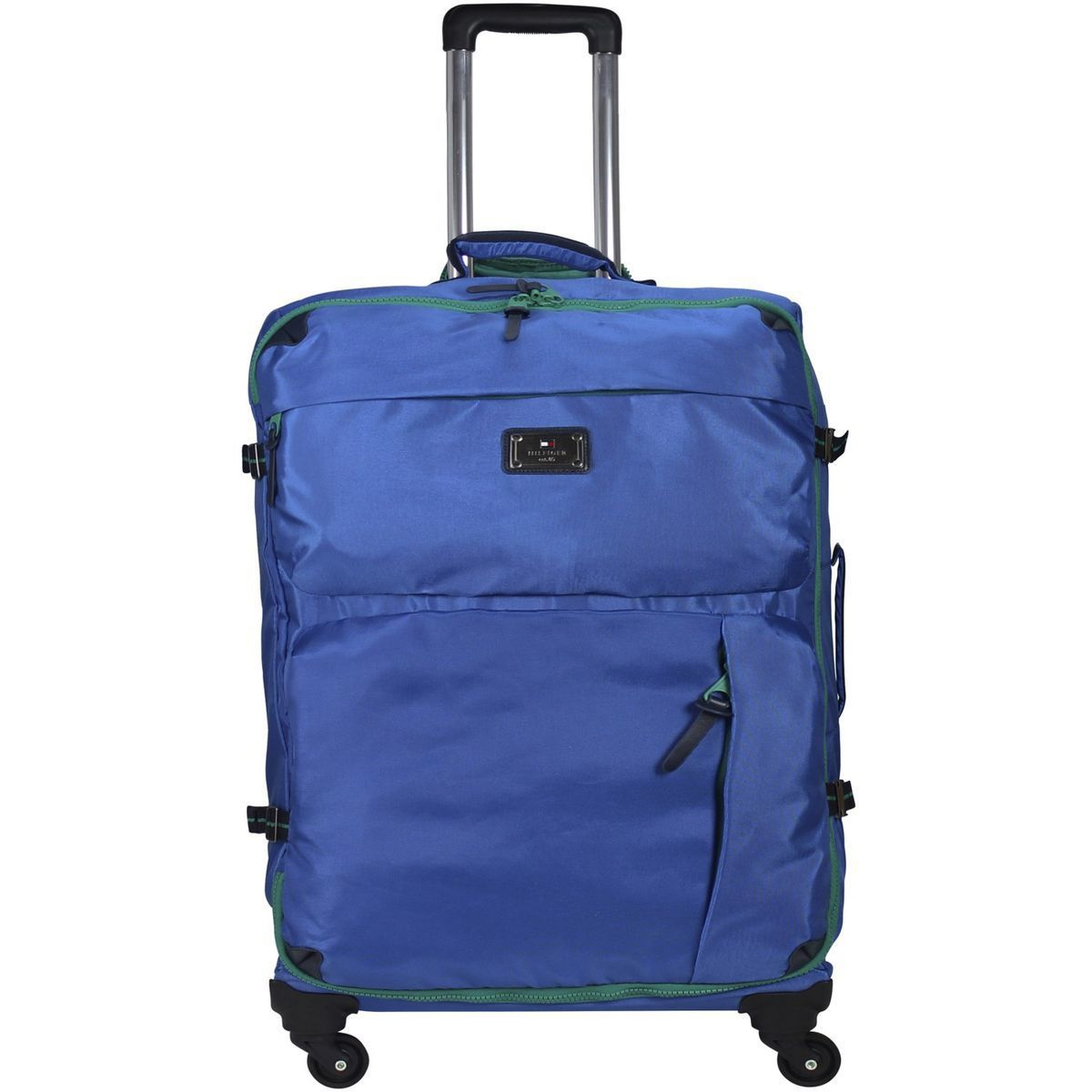 Tommy Hilfiger Burlington 4-Rollen Trolley 60 cm, turkish sea