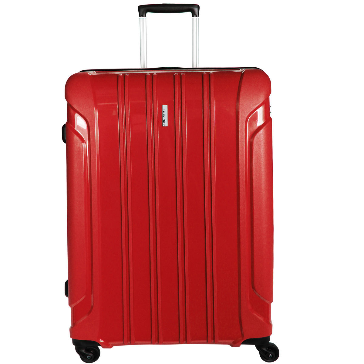 Travelite Colosso 4-Rollen Trolley M 65 cm, red